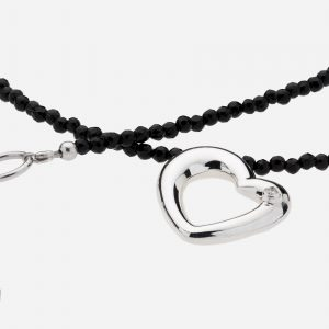 Tara Mesa Black Onyx Faceted Bead Necklace