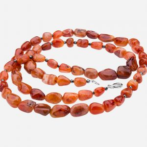 Tara Mesa Carnelian Bead Necklace