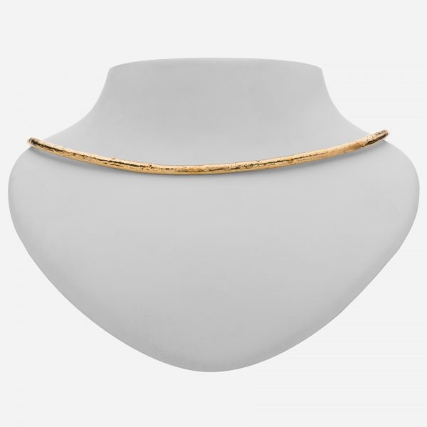 Tara Mesa Collar Necklace Crafted in Brass