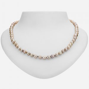 """Tara Mesa Sterling Silver Luxurious 19"""" Fresh Water Pearl Bead Necklace"""